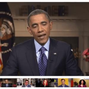 President obama fireside hangout 2013