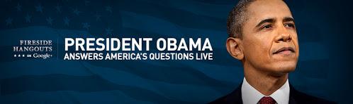 State of the Union Fireside Google+ Hangout With President Obama on Thursday!