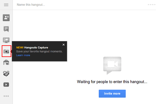 Now Snap Those Precious Hangout Moments With Hangouts Capture App