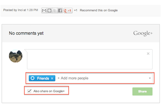 Google+ Comments Released and Available for Your Blogger Blogs!