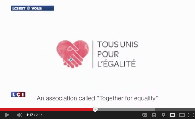 A Video Story About Same Sex Marriage via Google+ Hangouts in France!