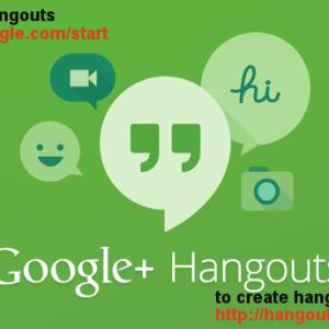 hangouts create/launch shortcut links