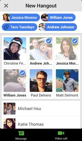 Google+ Hangouts Ios App Ver 1.1.1 Released in Appstore