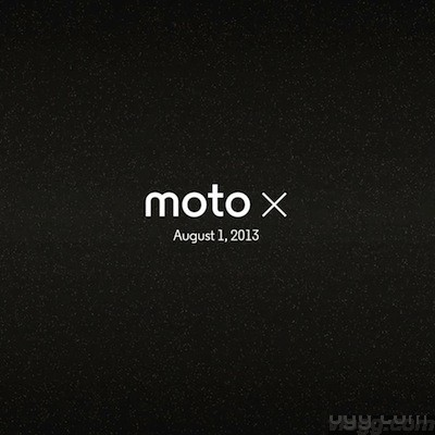 Moto X to Be Unveiled in New York Tomorrow