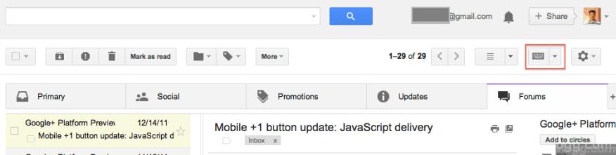 Gmail Input Tools option inside Gmail Account