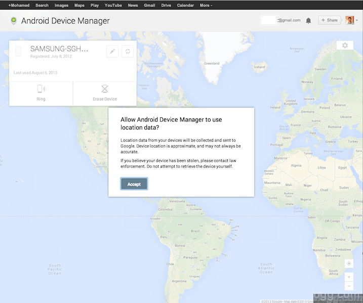 Android Device Manager Web Control App Setup