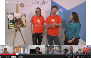 Be The Start Pitch Hangout on Air Video