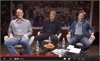 'The Internship' Movie Hangout Video Recording