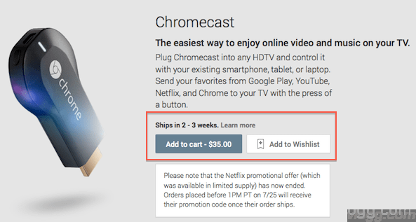 Chromecast May Be Available Earlier in Google Play Store!