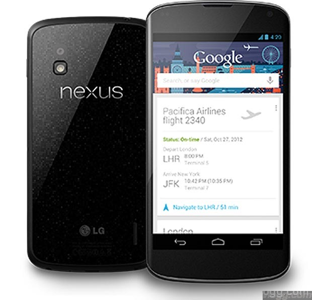 Nexus 4 Android Smartphone $100 Off in Google Play Store