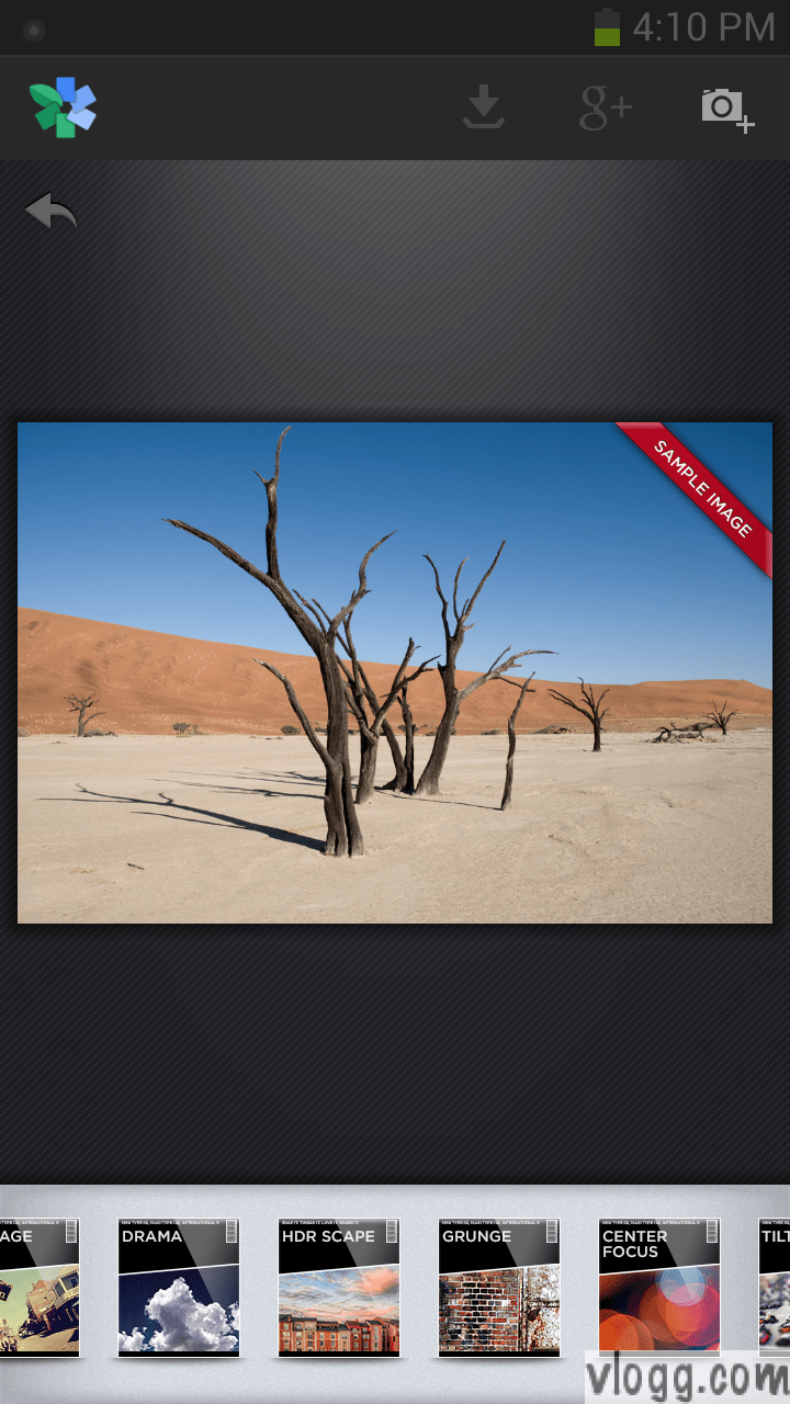 Snapseed Android App With HDR Scape Filter Released!
