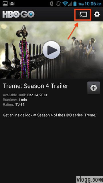 HBO Go Chromecast App for Android