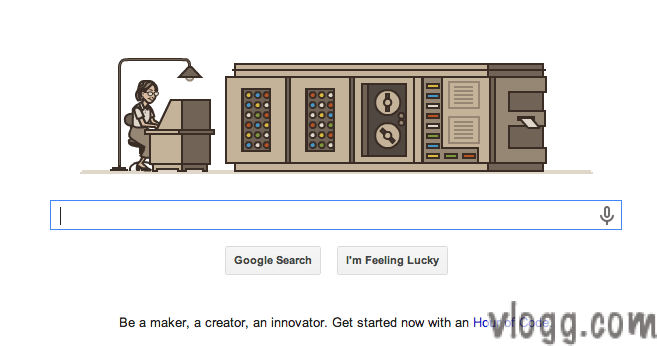 Grace Hopper Google Doodle and Video Learn How to Code? [images:vlogg.com]