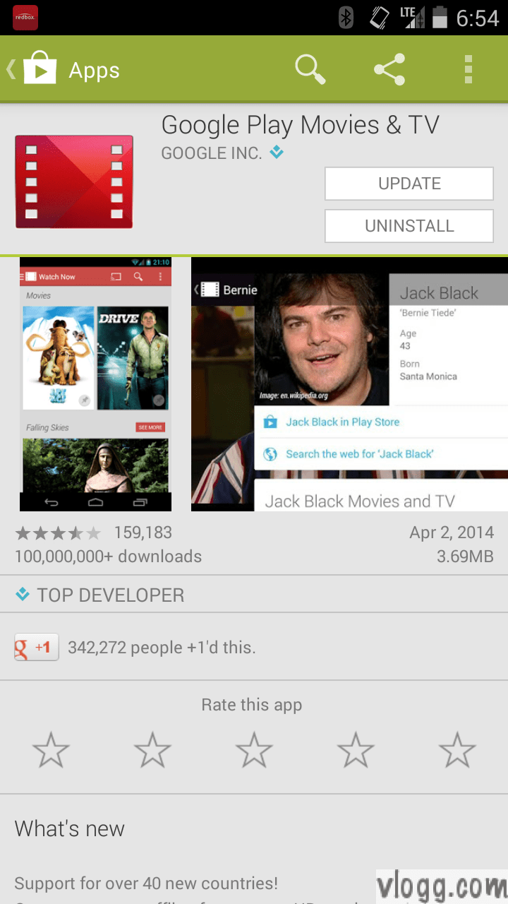 Google Play Movies & TV Android App 3.1.22 Released