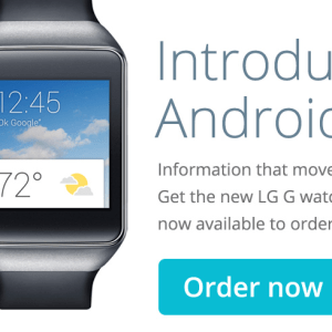 Android Wear Smart watches are now available on Google Play Store