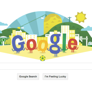 Google Doodle for Football World Cup 2014
