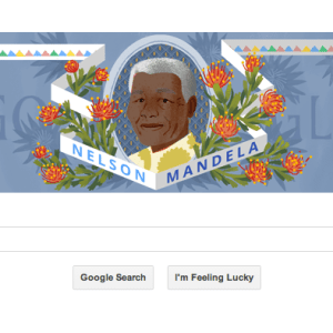 Nelson Mandela Birth Anniversary Google Doodle Today