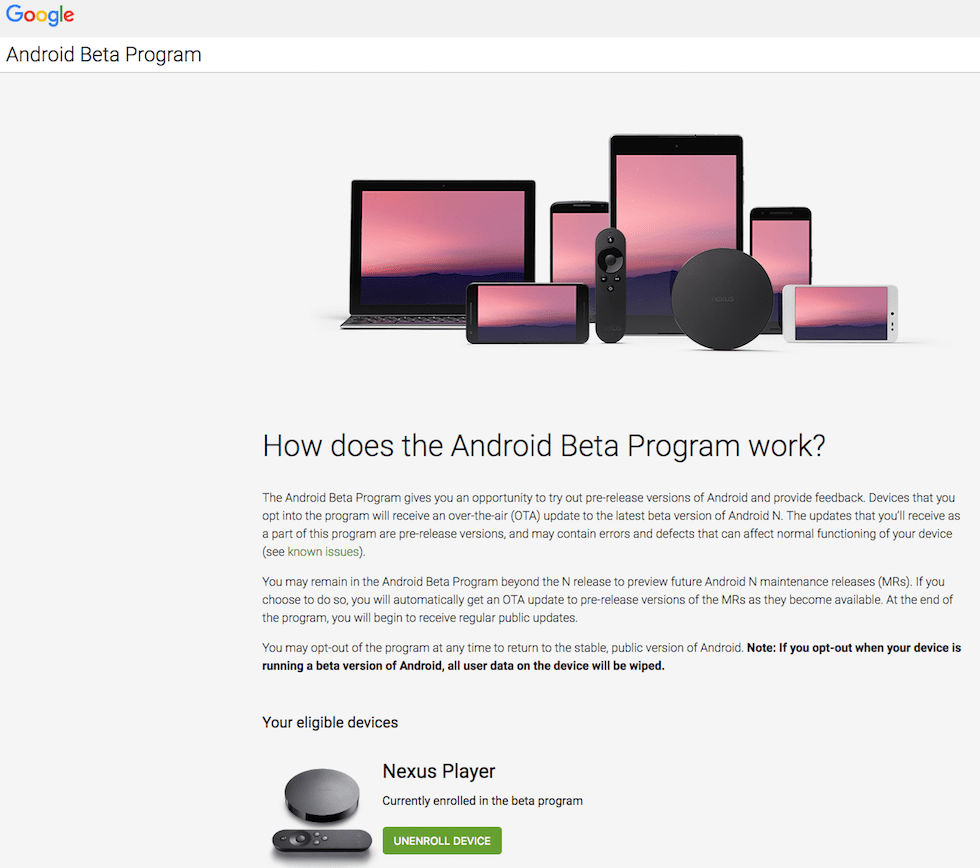 How to Signup for Android Beta Program?