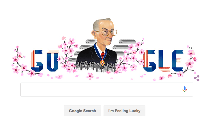 Google Doodle Honors Fred Korematsu During Immigration Ban