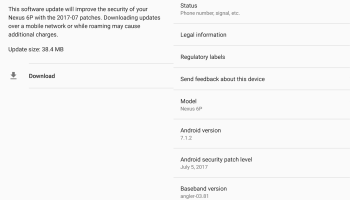 Google Releases November 2017 Android Security Patches for Nexus 6P
