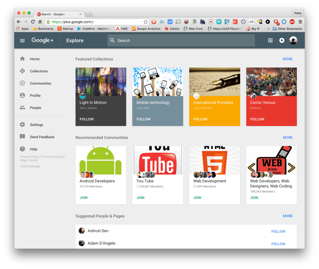 How to Try New and Fast Google+ Beta?