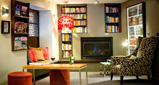 Library And Complimentary Book Exchange Alto Hotel On Bourke Melbourne Cbd