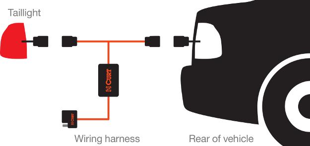 Trailer Flat 4 Wiring Harness On 4 Way Flat Trailer Wiring Diagram