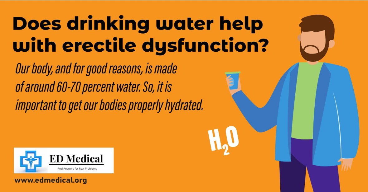 Does drinking water help with erectile dysfunction?