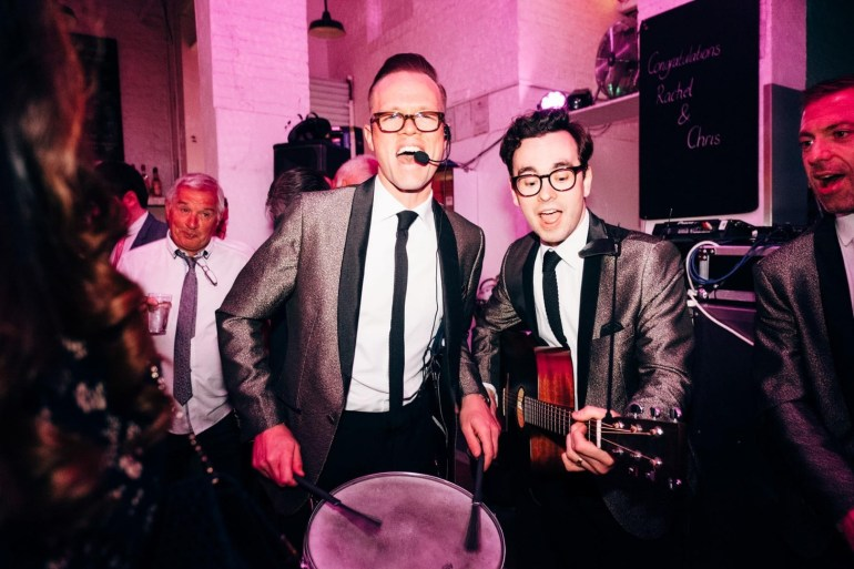 Wandering Soul are available for private events, corporate events and weddings through Encore