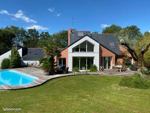maison a vendre becon les granits 49370
