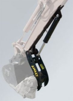 20 in Hydraulic Thumb for Mini Backhoe or Excavator AMUL ST01-2