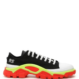 ADIDAS BY RAF SIMONS UNISEX RS DETROIT SNEAKERS 4,5 Black, Red, White