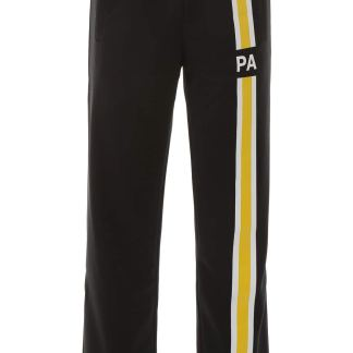 PALM ANGELS JOGGER PANTS WITH INITIALS S Black