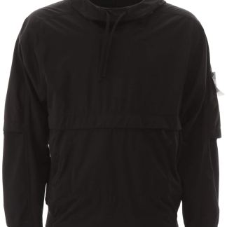 STONE ISLAND SHADOW PROJECT WINDPROOF SOFT SHELL-3L ANORAK S Black Technical