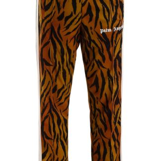 PALM ANGELS TIGER TRACKPANTS S Orange, Black, Beige