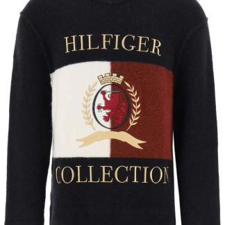 TOMMY HILFIGER COLLECTION 0 S Black, White, Red Wool