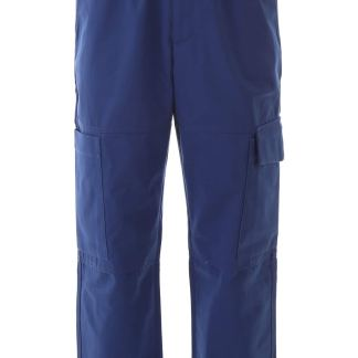 KENZO TAPERED CARGO TROUSERS 48 Blue Cotton