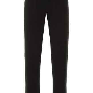 KENZO JOGGERS WITH SIDE BANDS 34 Black