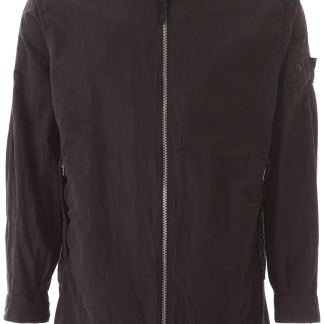 STONE ISLAND SHADOW PROJECT COMPACT JACKET S Black Cotton