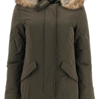 WOOLRICH LUXURY ARCTIC PARKA WITH MURMASKY FUR M Green Technical, Fur