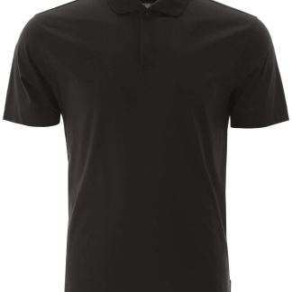 Z ZEGNA COTTON POLO SHIRT S Black Cotton