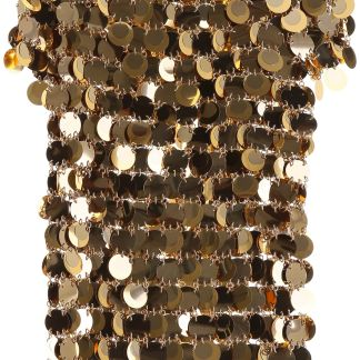 PACO RABANNE GOLD SEQUINS TOP 36 Gold