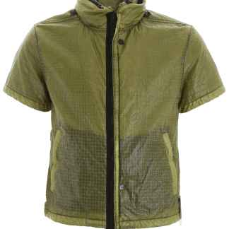 STONE ISLAND SHADOW PROJECT SHORT-SLEEVED JACKET M Green Technical