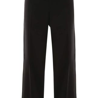 BOTTEGA VENETA TUXEDO TROUSERS 42 Black Wool