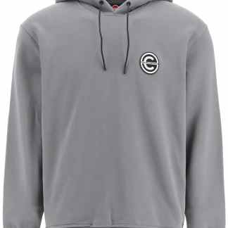 COLMAR AGE HOODIE LOGO PATCH S Grey Cotton