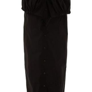 JACQUEMUS CUEILLETTE LONG SKIRT 34 Black