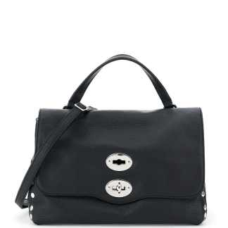 ZANELLATO DAILY POSTINA S BAG OS Black Leather