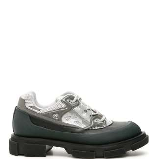 BOTH GAO RUNNER SNEAKERS 39 Black, Grey, Green Leather, Technical