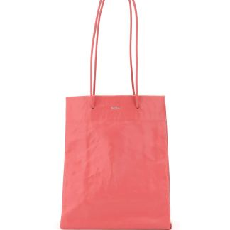 MEDEA TALL BUSTED BAG OS Pink Leather