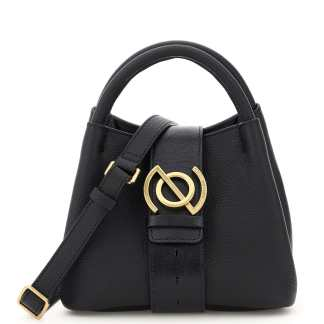 ZANELLATO PURA LINE ZOE BABY LEATHER BAG OS Black Leather